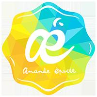 Amande Epicée logo - rédacteur web et print Lyon