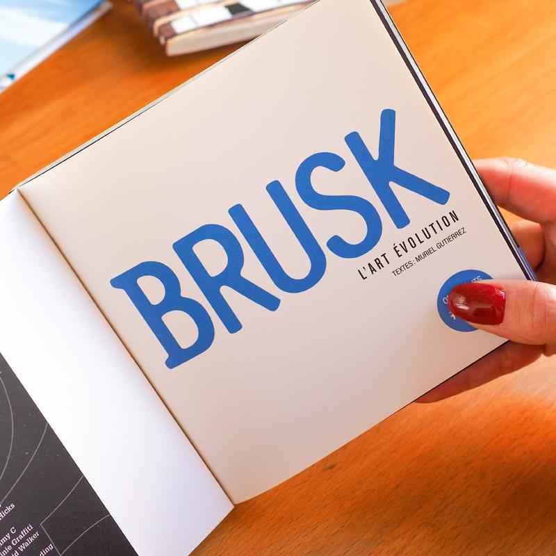 biographie de Brusk signée Muriel Gutierrez
