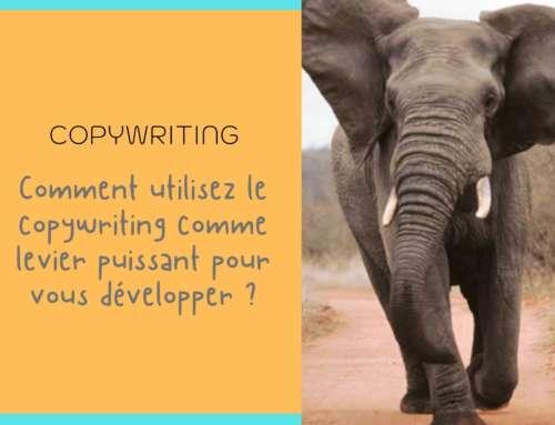 Le copywriting un levier puissant pour se développer