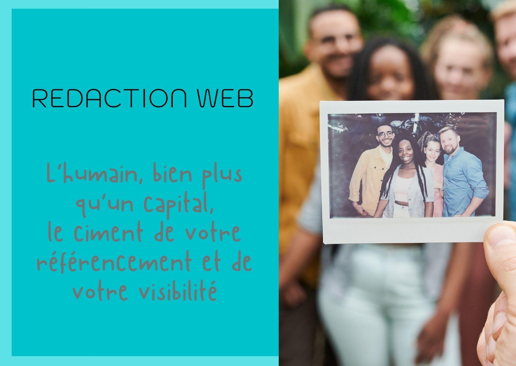 Rédaction web - Capital humain et visibilité