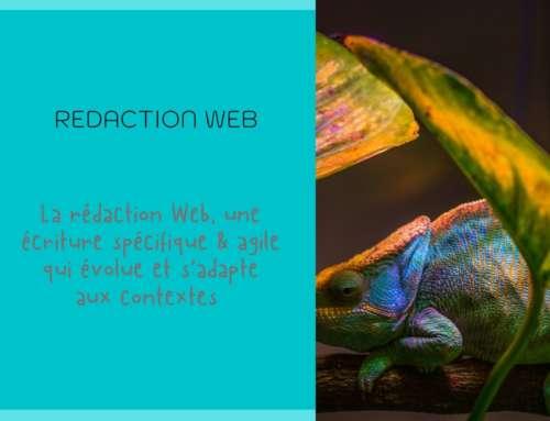 La rédaction Web, une écriture spécifique et agile qui évolue et s'adapte aux contextes