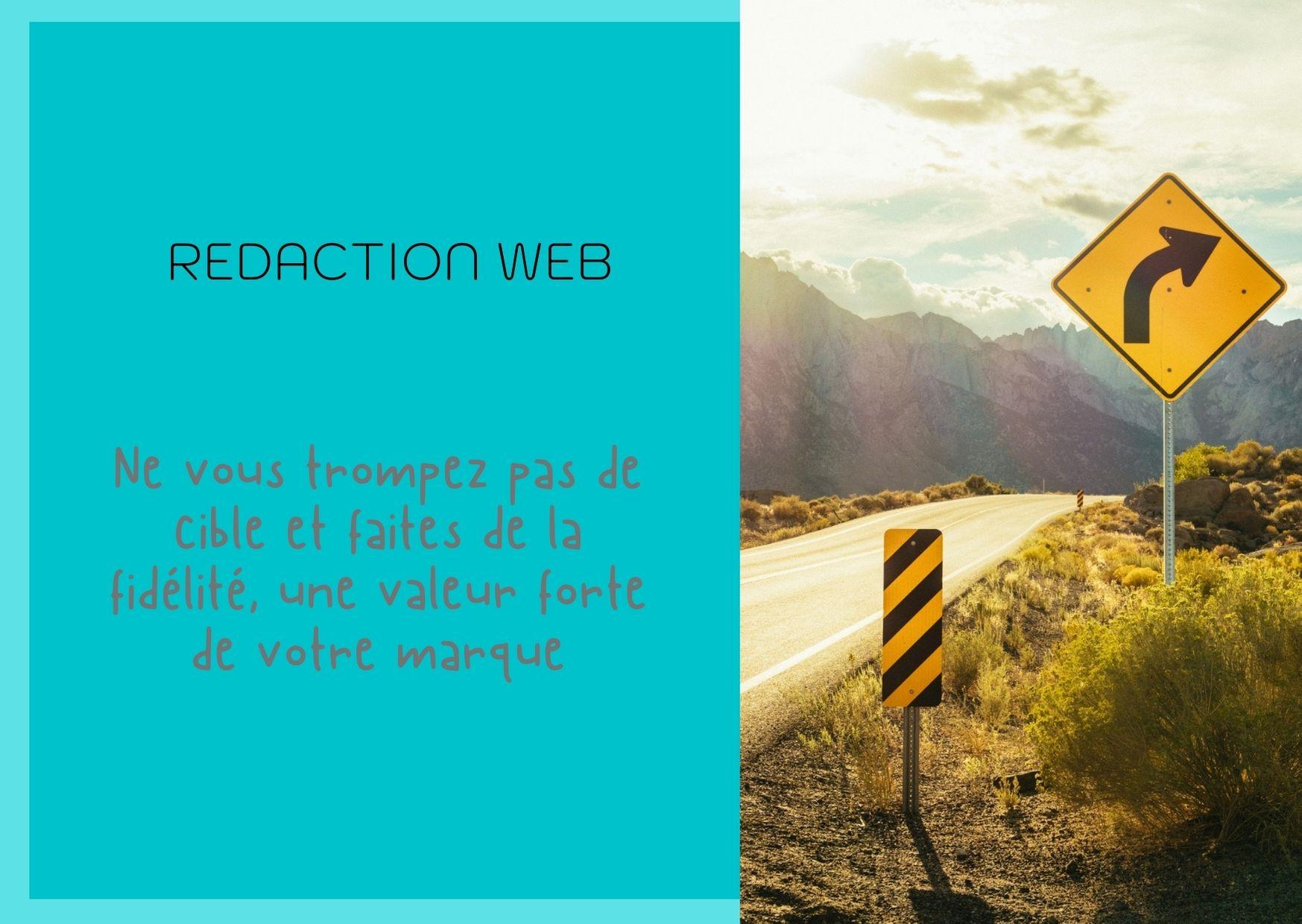 Stratégie de rédaction web fidèle aux valeurs de la marque