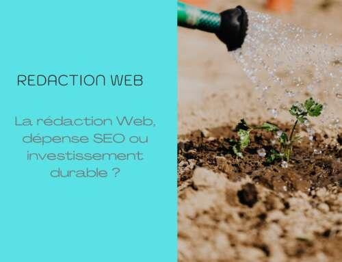 La rédaction Web, dépense SEO ou investissement durable ?